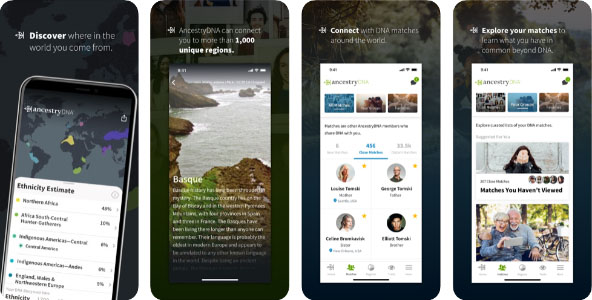 ancestry review mobile app